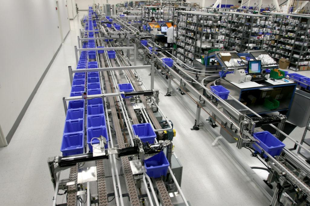 High Volume Prescription Dispensing & Fulfillment Automation